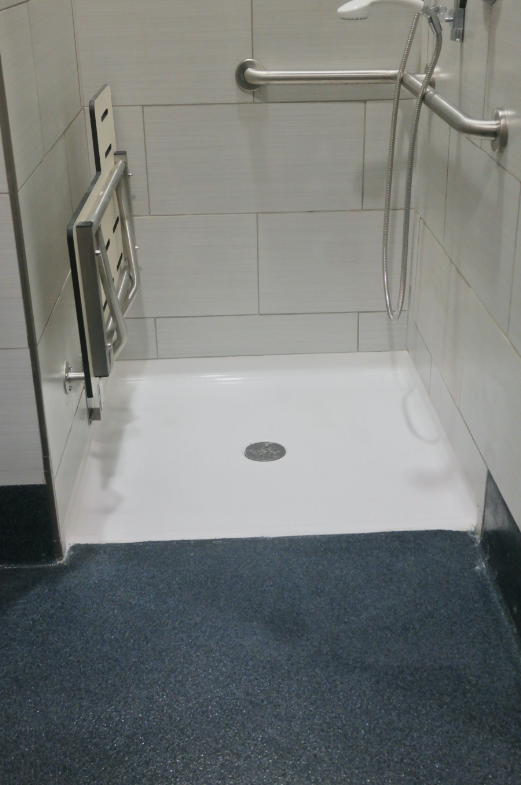 Shower Quartz Floor